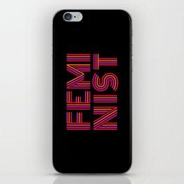 FEM·I·NIST iPhone Skin