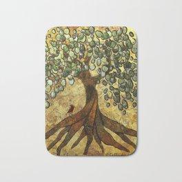 Twisted Oak Tree Bath Mat