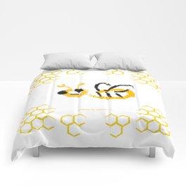 Happy bee Comforters
