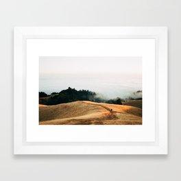 Fog Rolls in For a Lucky Photographer - 35mm Film Framed Art Print