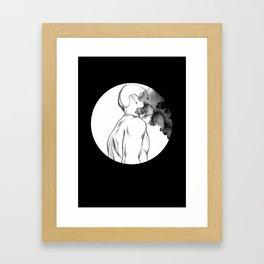Full Moon Madness Framed Art Print