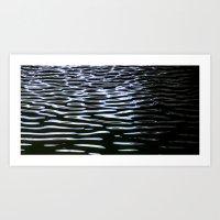 Reflection in Dark Water Art Print