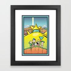 We Are Earthbound Framed Art Print