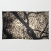 shadow Area & Throw Rugs featuring Shadow by Maria Heyens