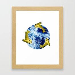 Freddi Goldfinger Framed Art Print