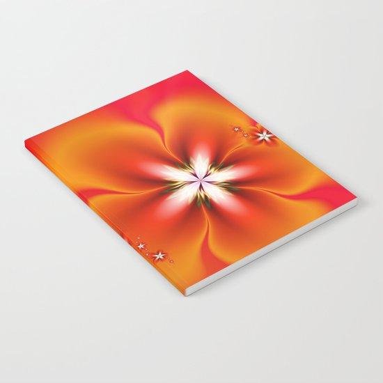 Fleur d'Automne Fractal Notebook