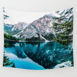 Glossy Tranqulity Wall Tapestry