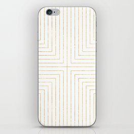 Converge Three Gold iPhone Skin