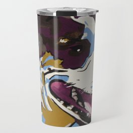 American Bulldog Mix Travel Mug