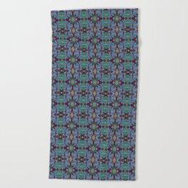 Overshot Pattern Beach Towel