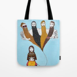 Beard Life Tote Bag