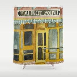 Halibut Point Restaurant Shower Curtain