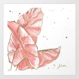 Tropical Twist III Art Print