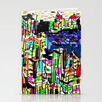 tokyo Stationery Cards featuring tokyo by sladja