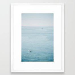 Ocean Calm Framed Art Print