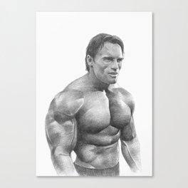 Arnold Schwarzenegger Canvas Print