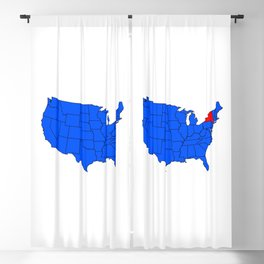 State of New York Position Blackout Curtain