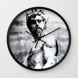In the Wake of Poseidon Wall Clock