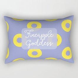 Fineapple Goddess Rectangular Pillow