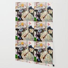Joan Miro Spanish Playing Cards Wallpaper
