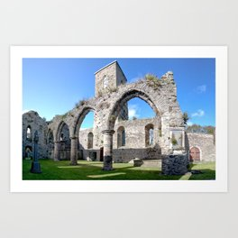 Inside the Priory Art Print