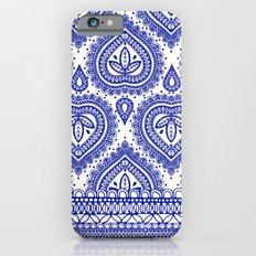 Decorative Blue iPhone 6s Slim Case