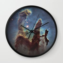 Beyond our solar system poster Nasa Wall Clock