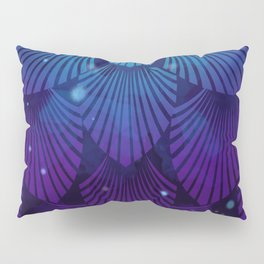 Variations on a Feather III - Raven Wing Deconstructed Pillow Sham