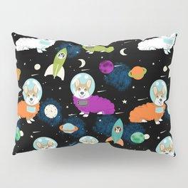 Welsh Corgi outer space cadet space camp rockets astronaut dog breed corgis gifts Pillow Sham