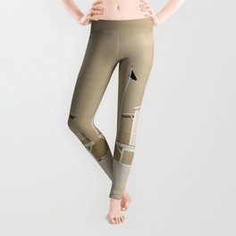 Lifeguard tower Leggings