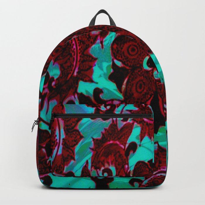 China Flower Backpack