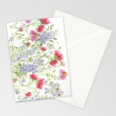 Flowering Meadow - Watercolor Stationery Cards