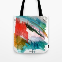 Happiness - a bright abstract piece Tote Bag