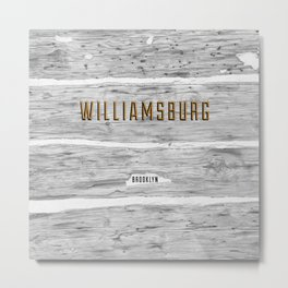 Williamsburg Cabin Metal Print