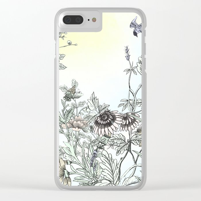 The dance of Spring Clear iPhone Case