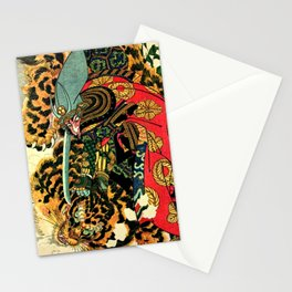 Tiger Hunt Stationery Cards