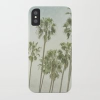 palm trees iPhone & iPod Cases featuring Palm Trees by Pure Nature Photos