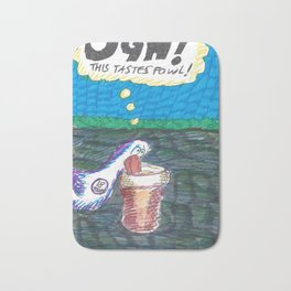 Ugh! This Taste's Fowl! Bath Mat