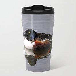 Shoveler Duck Travel Mug