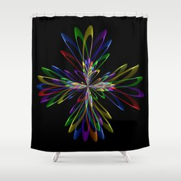Abstrac Perfection 96 Shower Curtain