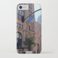 broadway iPhone & iPod Cases featuring Off Broadway by Jacqueline Obispo