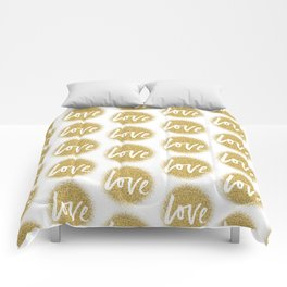 Love members only Comforters