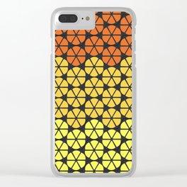 Ultraviolence Orange Clear iPhone Case