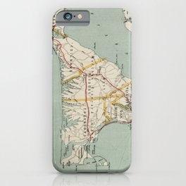 Vintage Map of Martha's Vineyard (1917) iPhone Case