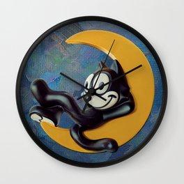 VINTAGE FELIX TOY FIGURE 2 Wall Clock