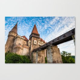 Corvin Castle, Transylvania Canvas Print
