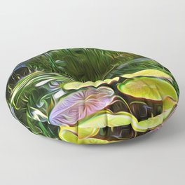 Greenery Pond Floor Pillow