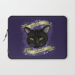 Witch Please Laptop Sleeve