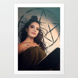 Circe the witch Art Print