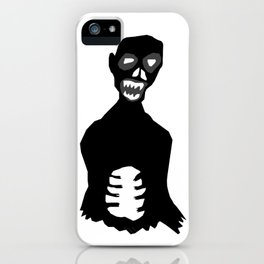 Big Black Zombie iPhone Case